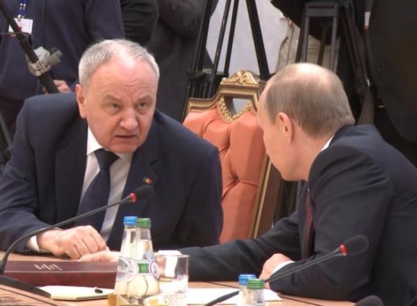 Timofti DEZVĂLUIE ce i-a spus lui Putin la Summitul statelor CSI