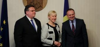 Lituania și Suedia vor continua să sprijine Republica Moldova pe calea integrării europene