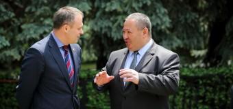 Andrian Candu și Mihail Burla s-au întâlnit la Bender