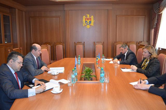 Natalia Gherman: Republica Moldova apreciază expertiza şi asistenţa NATO