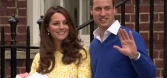 Situaţie ciudată în familia regală britanică, după naşterea prințesei Charlotte de Cambridge