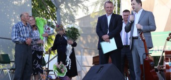 """Vlad Filat, în satul de baștină: """"Sunt fericit să mă aflu alături de consăteni"""""""