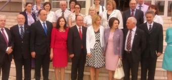 Un Centru de limbă şi cultură română a fost inaugurat la Universitatea de Stat din Comrat