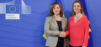 Gherman și Mogherini au discutat la Bruxelles. Află ce!