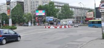 Două sensuri giratorii noi vor apărea în Chişinău