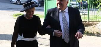 Serafim Urechean a votat alături de soţia sa, Larisa //FOTO