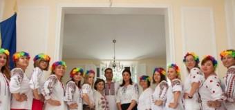 FOTO/ Diaspora din Italia a organizat o șezătoare în IE la Ambasadă