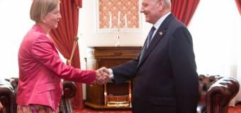 Ambasadoarea Ingrid Tersman își încheie mandatul. Președintele i-a acordat Ordinul de Onoare!