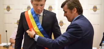 Dorin Chirtoacă, învestit în al treilea mandat de primar
