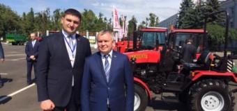"""Ion Sula a vizitat Uzina de Tractoare din or.Minsk, """"MTZ-Holding"""". Vezi cu ce scop!"""