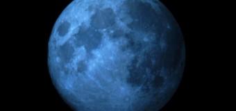 Fenomen astronomic inedit: Luna albastră, vizibilă pe 31 iulie