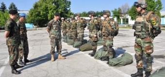 Un contingent al Armatei Naţionale participă la exerciţiile multinaţionale din regiunea Lviv, Ucraina