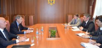 Viceministrul Andrei Galbur a avut o întrevedere de rămas bun cu şeful EUBAM