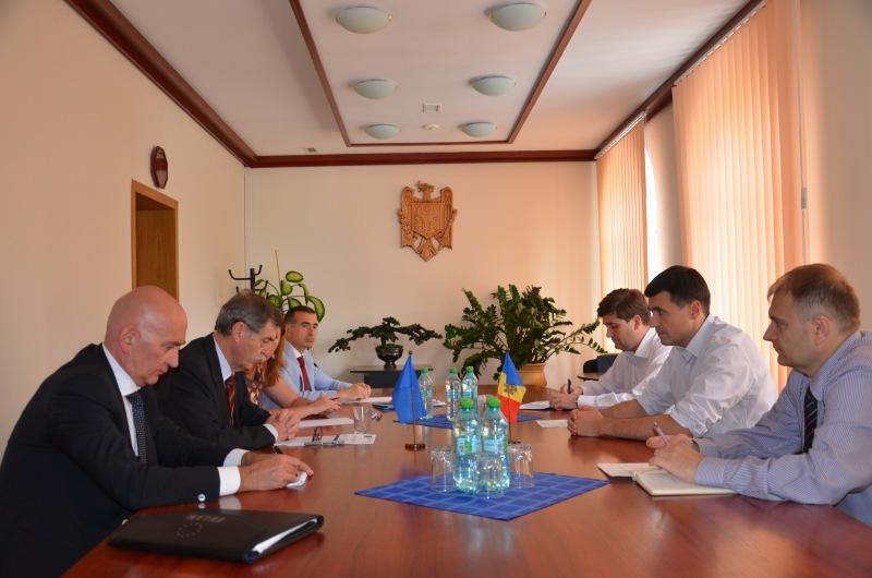 Tudor Balițchi: Serviciul Vamal va continua dezvoltarea parteneriatului strategic cu Misiunea UE