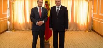 Ambasadorul Regatului Țărilor de Jos în RM s-a întâlnit cu Nicolae Timofti