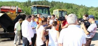 Ministrul Transporturilor a inspectat traseul Chișinău-Ungheni