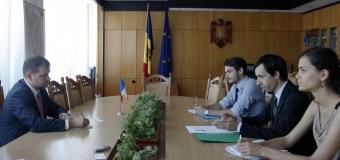 Valeriu Munteanu a avut o întrevedere cu  Jérémie Petit. Iată ce au discutat