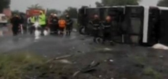 Linia ferbinte la care pot suna apropiații celor implicați în accidentul din județul Brăila