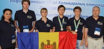 Liceenii moldoveni au obținut două medalii de bronz la Olimpiada Internațională de Informatică