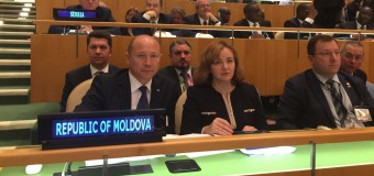 Andrei Galbur a ţinut un discurs la Forumul de nivel înalt al Statelor în Curs de Dezvoltare fără Litoral Maritim