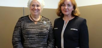 Natalia Gherman a avut o întrevedere cu omologul estonian, Marina Kaljurand