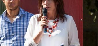 Loretta Handrabura, la ceremonia de premiere a Turneului Naţional de tenis în memoria Nataliei Rogova