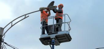 Proiectul de iluminare a Orheiului, anunțat de către primarul Ilan Șor, este în plină desfășurare