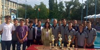 "Ministra Handrabura a participat  la ceremonia de deschidere a Turneului Internațional ""Memorialul A. Boltramovici"""