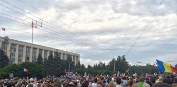 Platforma DA cere instituțiilor coercitive ale statului să oprească imediat anchetarea, intimidarea și hărțuirea protestatarilor