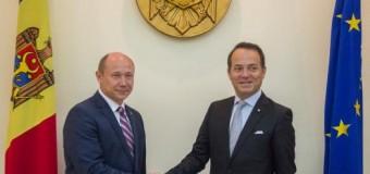 Streleț a avut o întrevedere cu Ambasadorul Italiei. Vezi ce au discutat!