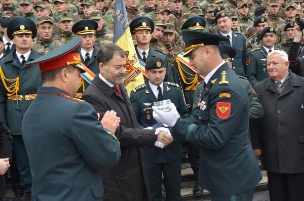 """Brigada """"Ştefan cel Mare"""" a sărbătorit 23 de ani de la creare"""