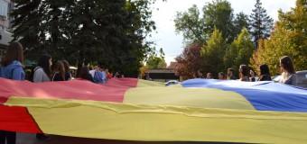 """Asociația """"Onoare, Demnitate și Patrie"""" a protestat la Biroul Național de Statistică"""
