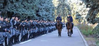 Angajații MAI din întreaga republică au fost mobilizați în cadrul evenimentelor din Chișinău