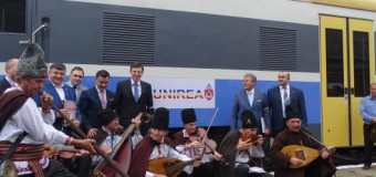 """Chirinciuc: Pot afirma cu mândrie că, acest tren își merită, pe bună dreptate, numele: """"Unirea"""""""
