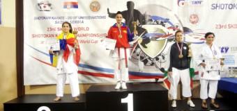 Medalii de aur, argint şi bronz pentru RM la Campionatul Mondial de Karate Shotokan