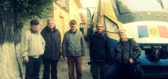 Un grup de turiști austrieci au venit în R.Moldova pentru a arăta căile ferate întregii lumi