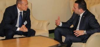 Streleț l-a invitat pe omologul său georgian să întreprindă o vizită în RM