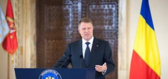 Klaus Iohannis: Încurajez Guvernul moldovean să treacă peste dificultăţi