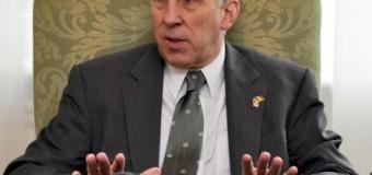 Corneliu Gurin s-a întâlnit cu cu ambasadorul american, James D. Pettit. Despre ce au discutat cei doi