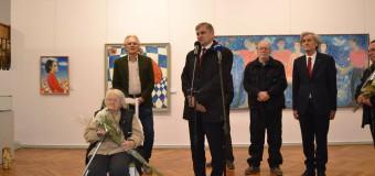 Valentina Rusu-Ciobanu și-a expus picturile la Muzeul Național de Artă al Moldovei