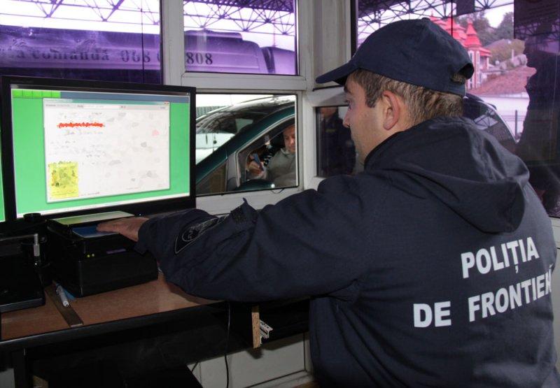 Șapte persoane în conflict cu legea au fost reținute la frontieră