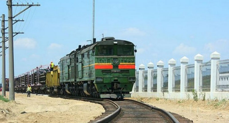 Un segment de cale ferată în sudul țării a fost afectat de ploi