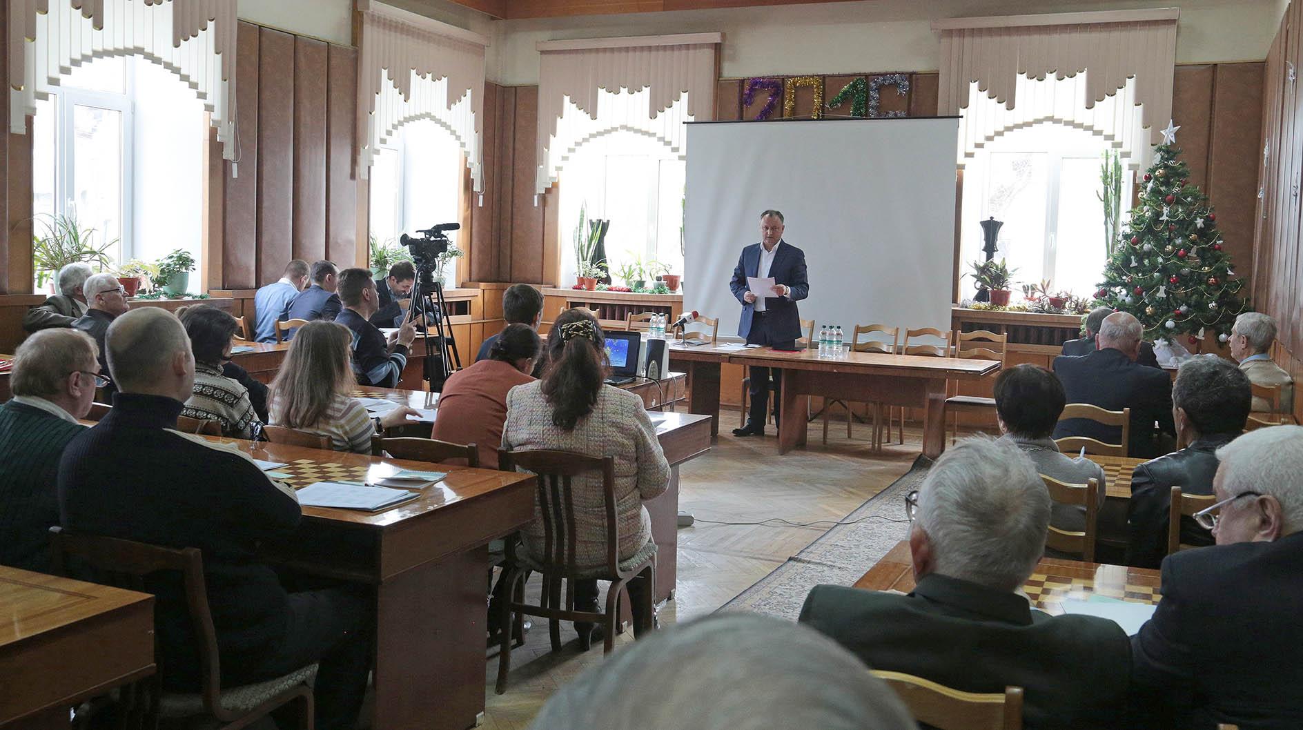 Federaţia de Şah a RM și-a reales președintele