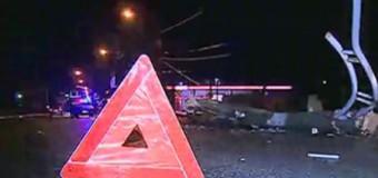 Conducătorul auto care a doborît un stîlp de electricitate, cauzînd moartea unei persoane, a fost arestat