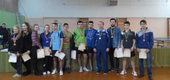 Câștigătorii Campionatului Republicii Moldova la tenis de masă