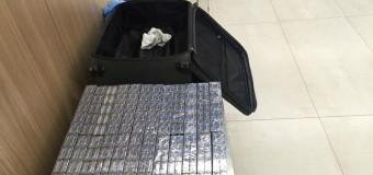 Un cetățean al Poloniei, reținut pe Aeroportul Internaţional Chișinău cu 480 de pachete de țigări