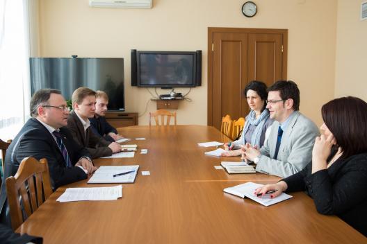 Șeful Cancelariei de Stat, mulțumit de rezultatele primei etape a proiectului Ameliorarea Competitivităţii