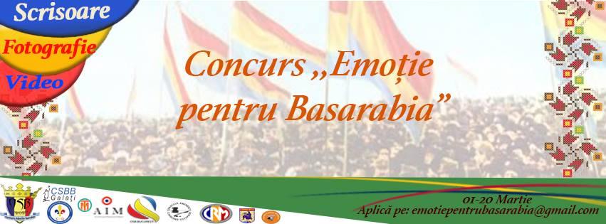 """Prima ediție a concursului """"Emoție pentru Basarabia"""" a început"""