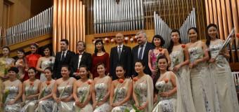 """Orchestra Naţională de Femei din Jiangsu, China, a susţinut un recital în cadrul Festivalului Internaţional de Muzică """"Mărţişor""""- 2016"""