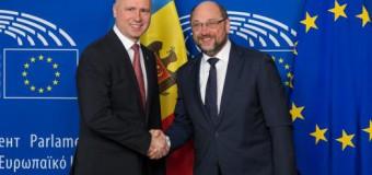 Președintele Parlamentului European a încurajat Guvernul Republicii Moldova să continue să facă progrese în promovarea reformelor
